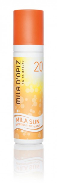 Mila d'Opiz Sun Bronzing Spray SPF 20, 100 ml
