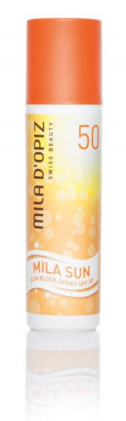 Mila d'Opiz Sun Block Spray SPF 50, 100 ml