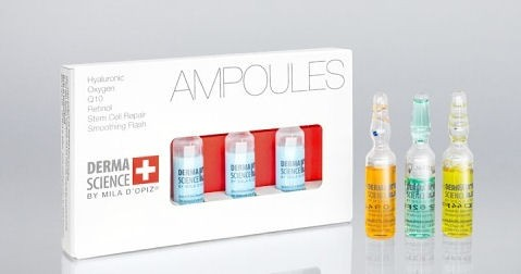Mila d'Opiz Derma Science Oxygen Ampulle, 3 x 3 ml