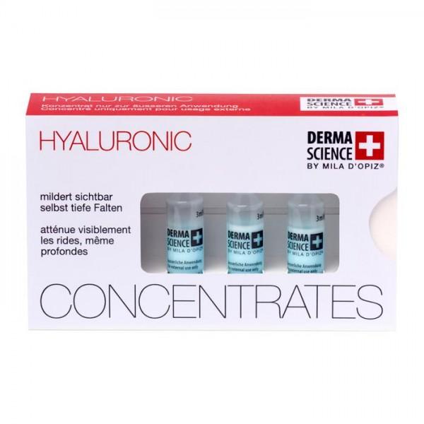Mila d'Opiz Derma Science Hyaluronic Ampoule, 3 x 3 ml